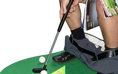 WC golf - už žádná nuda a žádné čtení novin na WC