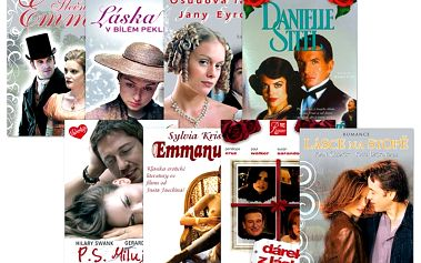 Speciální romantický balíček, 8 DVD pošetka