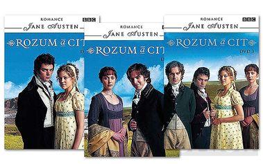 Balíček 154 Rozum a cit 1-3, 3 DVD pošetka