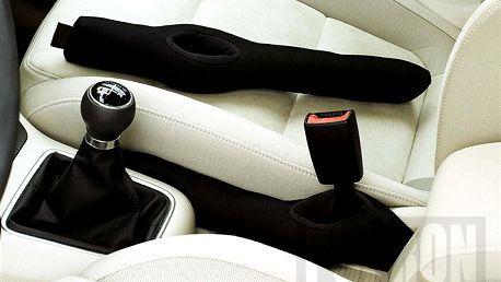 Ochranná výplň mezi sedadly do auta
