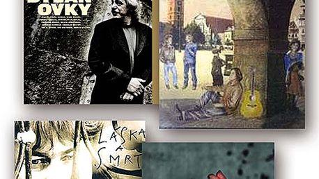 Balíček: Žalman + Robert Křesťan a Druhá Tráva, 4 CD digipack