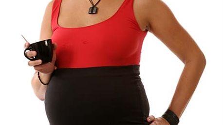 Hippsy PRE - černá - těhotenský bederní pás