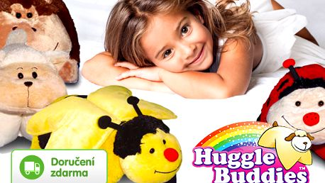 Plyšové polštářky Huggle Buddies