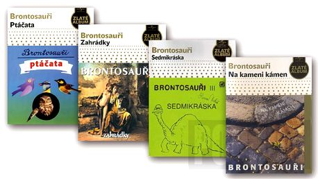 Balíček: Brontosauři, 4 CD digipack