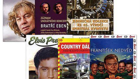 Balíček - Folk a country (pošetky), 5 CD+DVD
