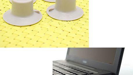 Podložky pod notebook - 4 kusy a poštovné ZDARMA! - 2107162