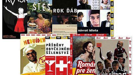 Speciální balíček českých filmů, 8 DVD pošetka