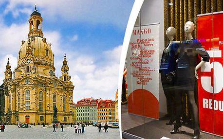 Novoroční výprodeje 11., 18. a 25. ledna 2014 v Drážďanech pohodlně a levně vlakem z Prahy