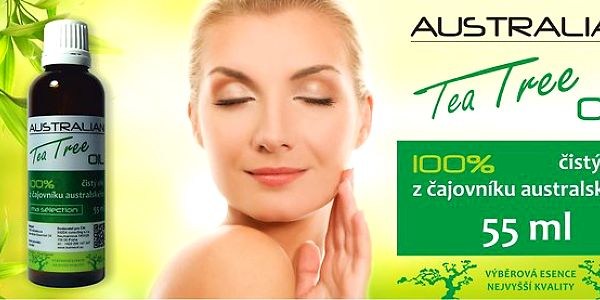 100% Australian Tea Tree Oil - výhodné balení 55 ml