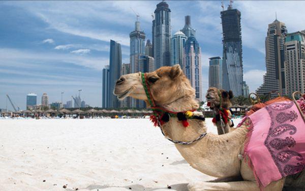 Dovolená v Dubaji, zemi plné slunce. Pobyt na 8 dní s polopenzí v termínu 22- 29.1. Navštivte místní moderní nákupní centra i tradiční orientální bazary.
