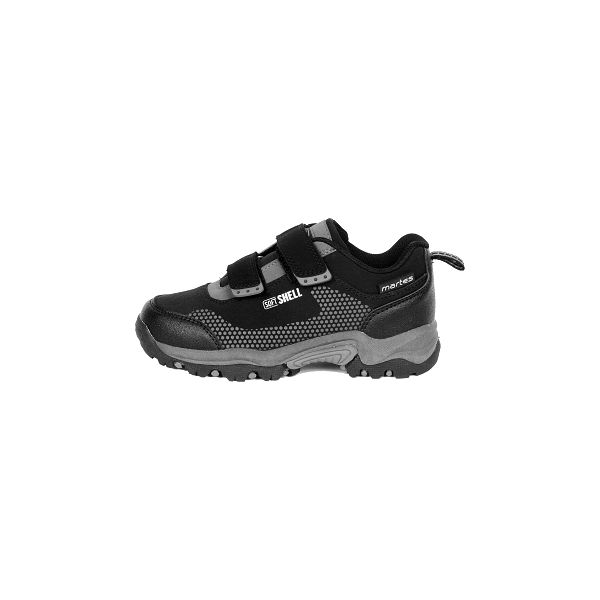 Dětská treková obuv - Martes FARO LOW JR černá