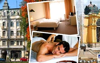 4 wellness procedury v centru Mariánských Lázní, stylové ubytování, plná penze! Pobyt na 3 dny pro 2 osoby v hotelu Polonia*** v centru města přímo naproti parku s kolonádou a Zpívající fontánou. Užijte si dovolenou v perle Českého lázeňství!