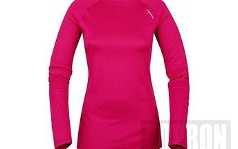 Loap Willa dámské thermo triko dlouhý rukáv - vel XL - růžové