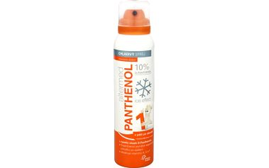 Omega Pharma Panthenol Forte 10% tělový sprej Ice Effect 150 ml