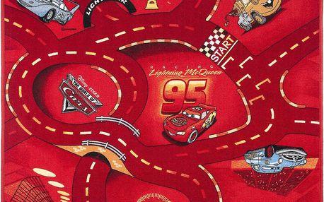 VOPI Dětský koberec Cars World of cars 95x133 cm