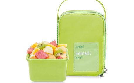 Termotaška na dětskou stravu zelená + dóza 400ml