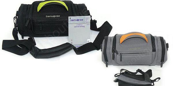 Cestovní pouzdro Samsonite na fotoaparát v akci