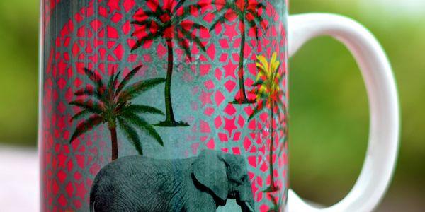 Hrnek Tamara Elephant Stroll