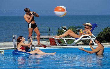 Nabitá dovolená u Balatonu pro DVA s NEOMEZENÝM vstupem do bazénu