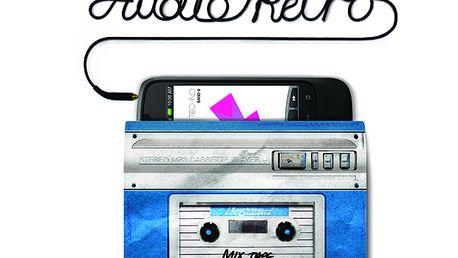Audio Retro - ochranný obal na mobil/MP3