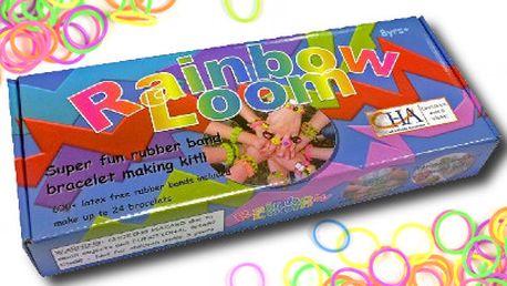 Dětská kreativní sada Rainbow Loom za 315 Kč! Náramky dle vlastního designu!