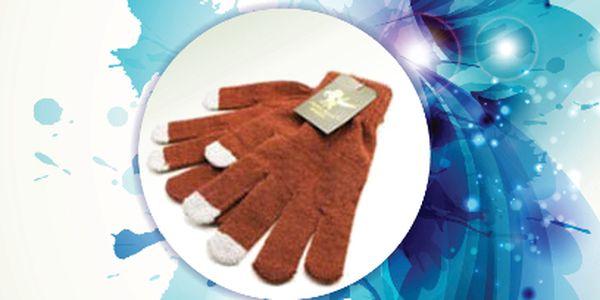 Rukavice pro dotykový displej za 118 Kč! 1+1 zdarma!