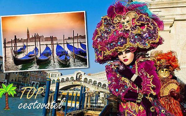 Jednodenní zájezd na slavný karneval do Benátek