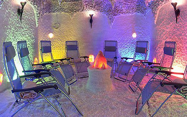 2x vstup do solné jeskyně v centru Ostravy