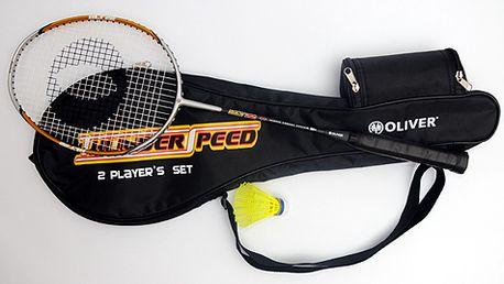 Nejoblíbenější badmintonová raketa za exkluzivní cenu! Včetně celoobalu a míčku, vhodná i pro turnajové hráče
