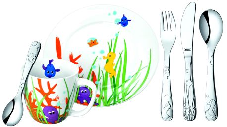 Silit Dětská jídelní sada AQUARAMA, 6ks