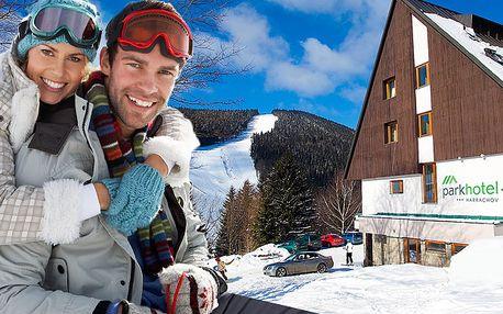 LAST MINUTE lyžovačka v Krkonoších s plnou penzí