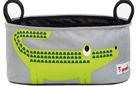 Organizér ke kočárku s krokodýlem