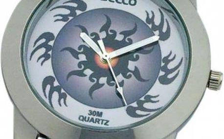 Dívčí hodinky Secco S K203–4 s kovovým pouzdrem