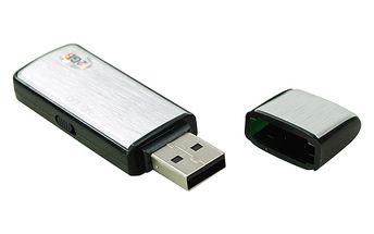 USB diktafon s flash diskem - 2 barvy, 3 kapacity a poštovné ZDARMA! - 2707285