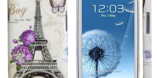 Zadní ochranný kryt s Eiffelovkou na Samsung Galaxy S3/I9300 a poštovné ZDARMA! - 2307314