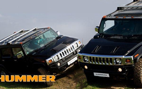 Adrenalinová jízda za volantem legendárního vozu HUMMER H2 na závodním off-road polygonu Max Cars Plus jen za 549 Kč! Darujte super zážitek na celý život! Sleva 55%!