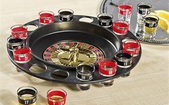 Alkoholová ruleta rozproudí zábavu každého večera.