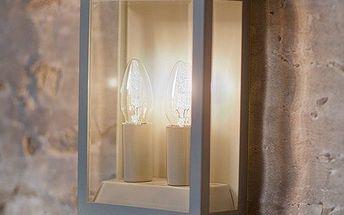 Nástěnná lampa Belvedere Clay bude perfektním praktickým doplňkem na každé verandě