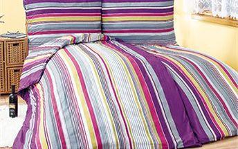 Elegantní povlečení Catherine doladí vaši ložnici do moderní barevnosti oblíbenými odstíny fialové