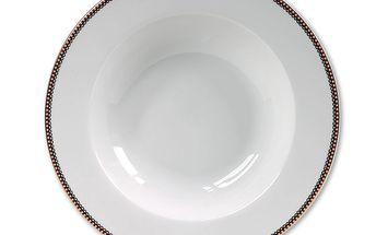 Těstovinový talíř Blossom White - 26,5 cm