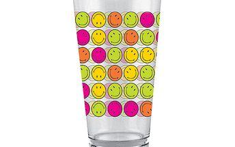 Veselá sklenička se smajlíky