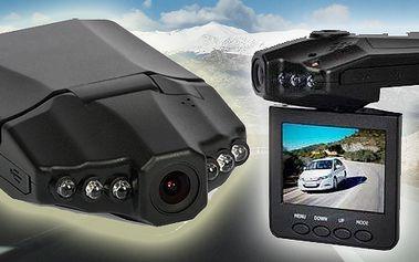 Kamera do auta schopná nahrávání v HD rozlišení 720p včetně zvukové stopy. Oproti méně kvalitním modelům poskytuje čistý záznam. Vhodný bezpečnostní prvek pro každého!!