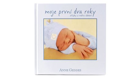 Anne Geddes Kniha Moje První Dva Roky kluk CZ