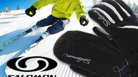 Pánské a dámské lyžařské rukavice Salomon