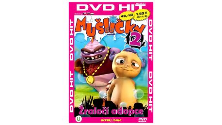 DVD hit Mušličky 2