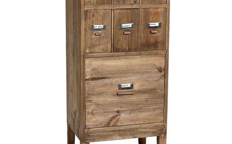 Dřevěná komoda se šuplíky Wood