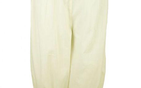 Bavlněné kalhoty ve vintage stylu Mameluke White