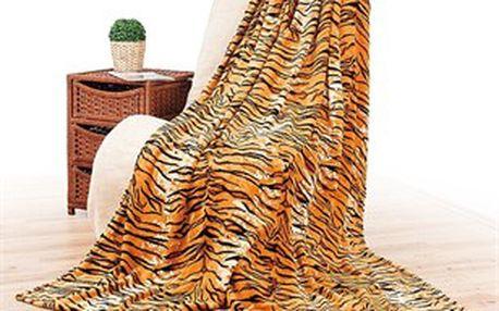 Deka s tygřím vzorem, 4Home, 150 x 200 cm