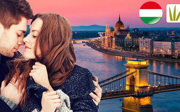 Valentýn v Budapešti – památky i termální lázně