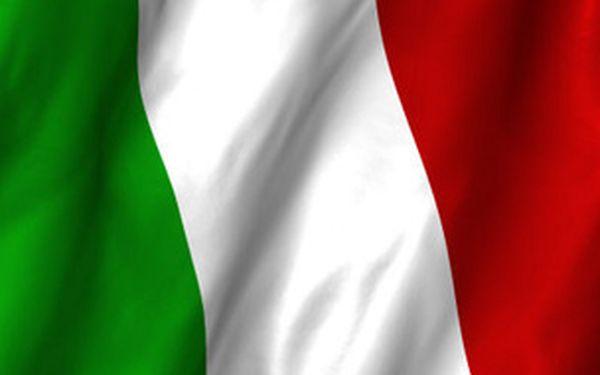 Trimestrální kurz italštiny pro úplné začátečníky A0
